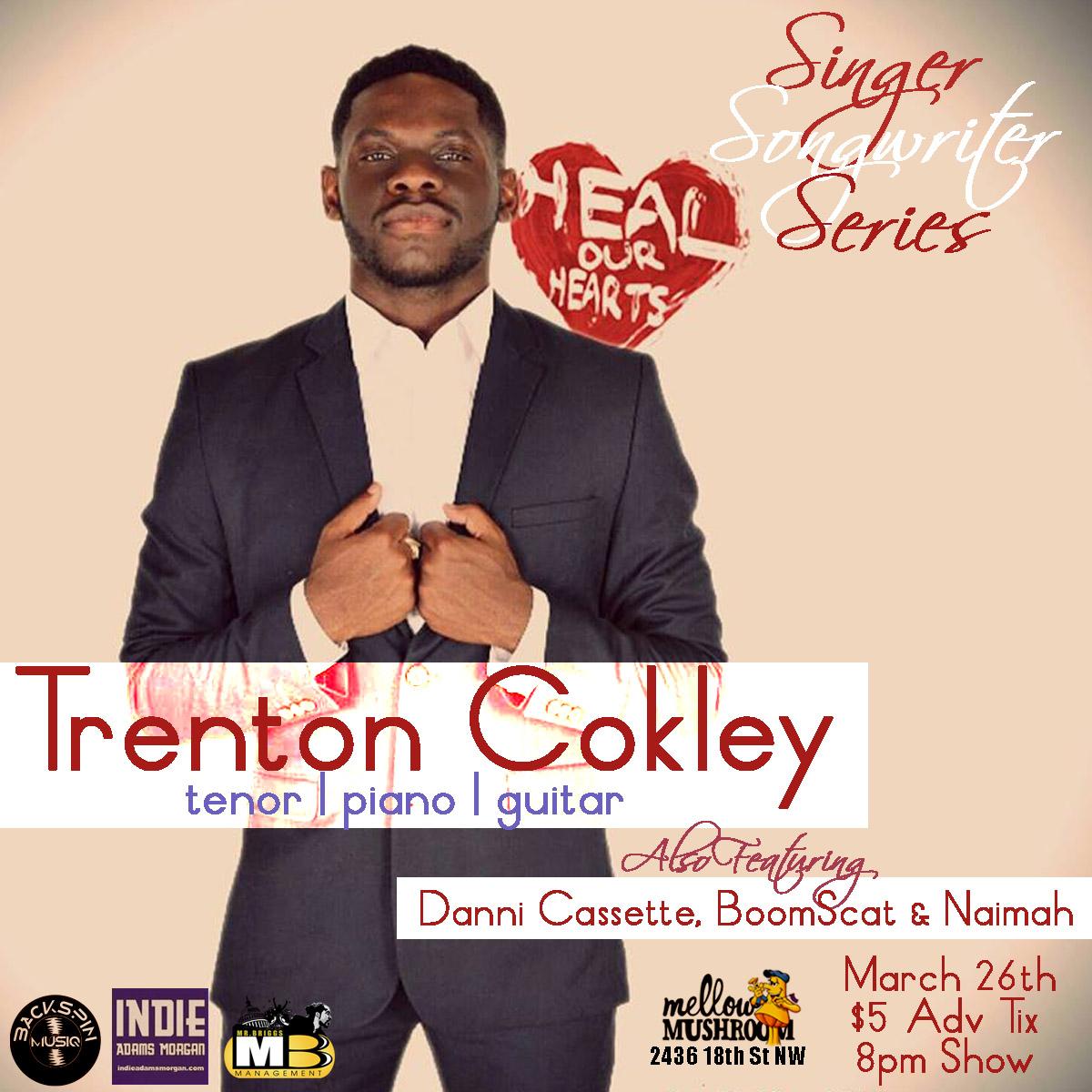Trenton Cokley for Singer/Songwriter Series: Adams Morgan