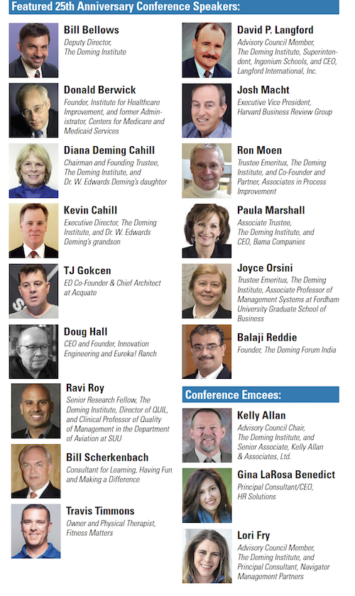 2018 speakers and moderators