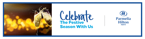 Celebrate this festive season with us email banner