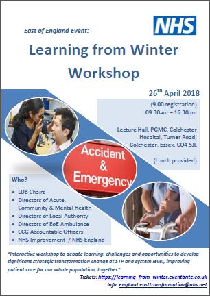 Winter Workshop poster