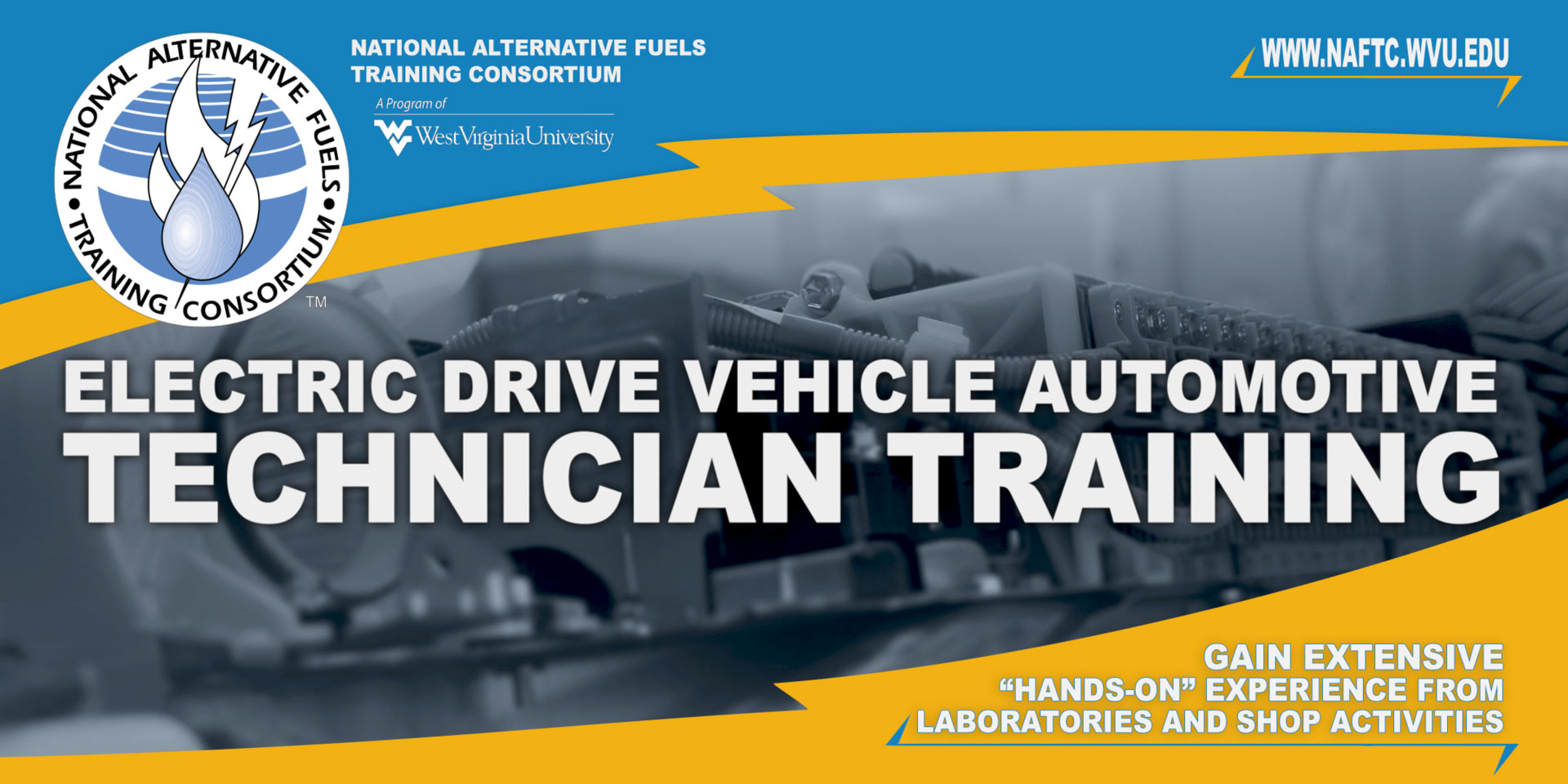 Electric Drive Class Banner
