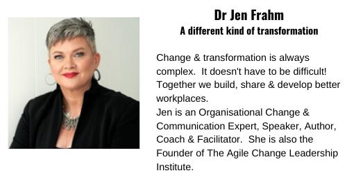 Dr Jen Frahm