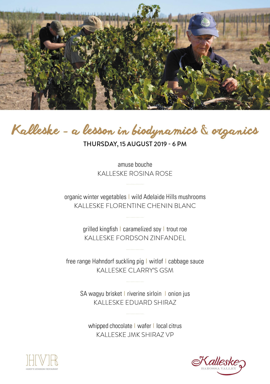 Kalleske HVR Dinner Event