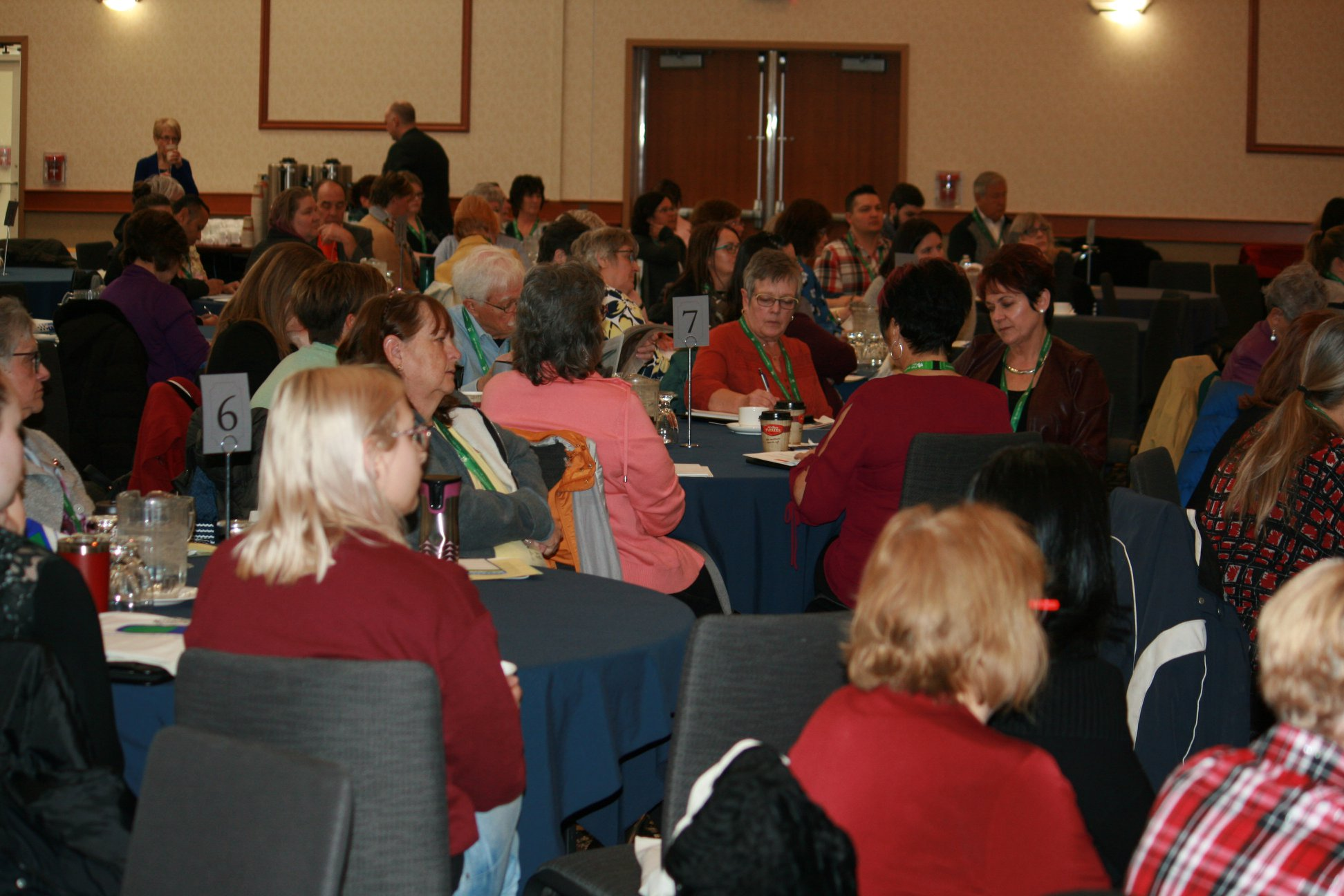 Photo of participants of Winnipeg Wise Meds conference 2019