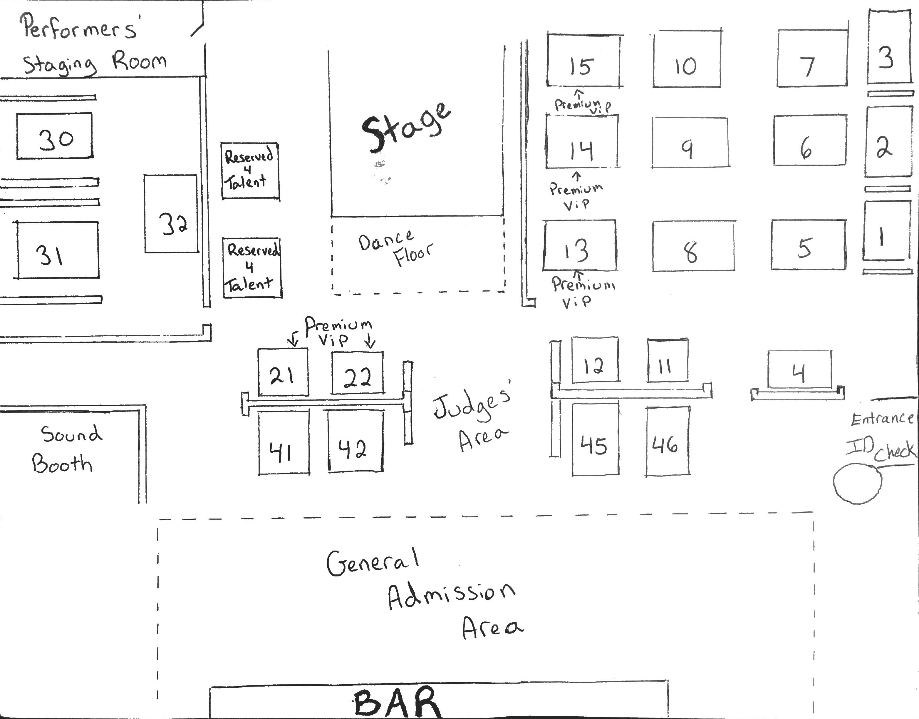 Event Seating Chart