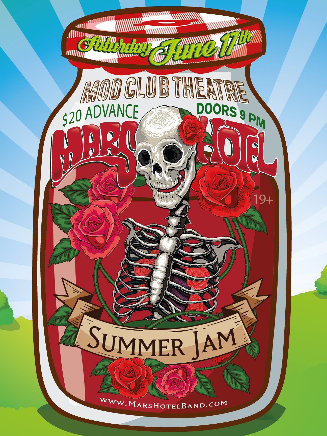 Summer Jam - Mars Hotel - 6-17-2017