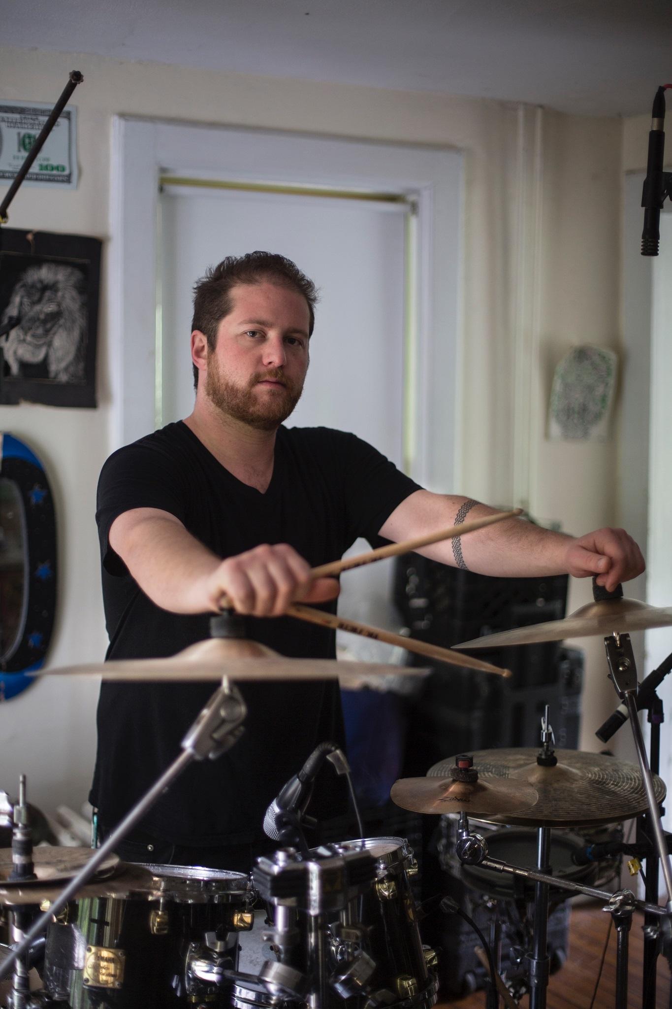 Jules Jenssen, Drums