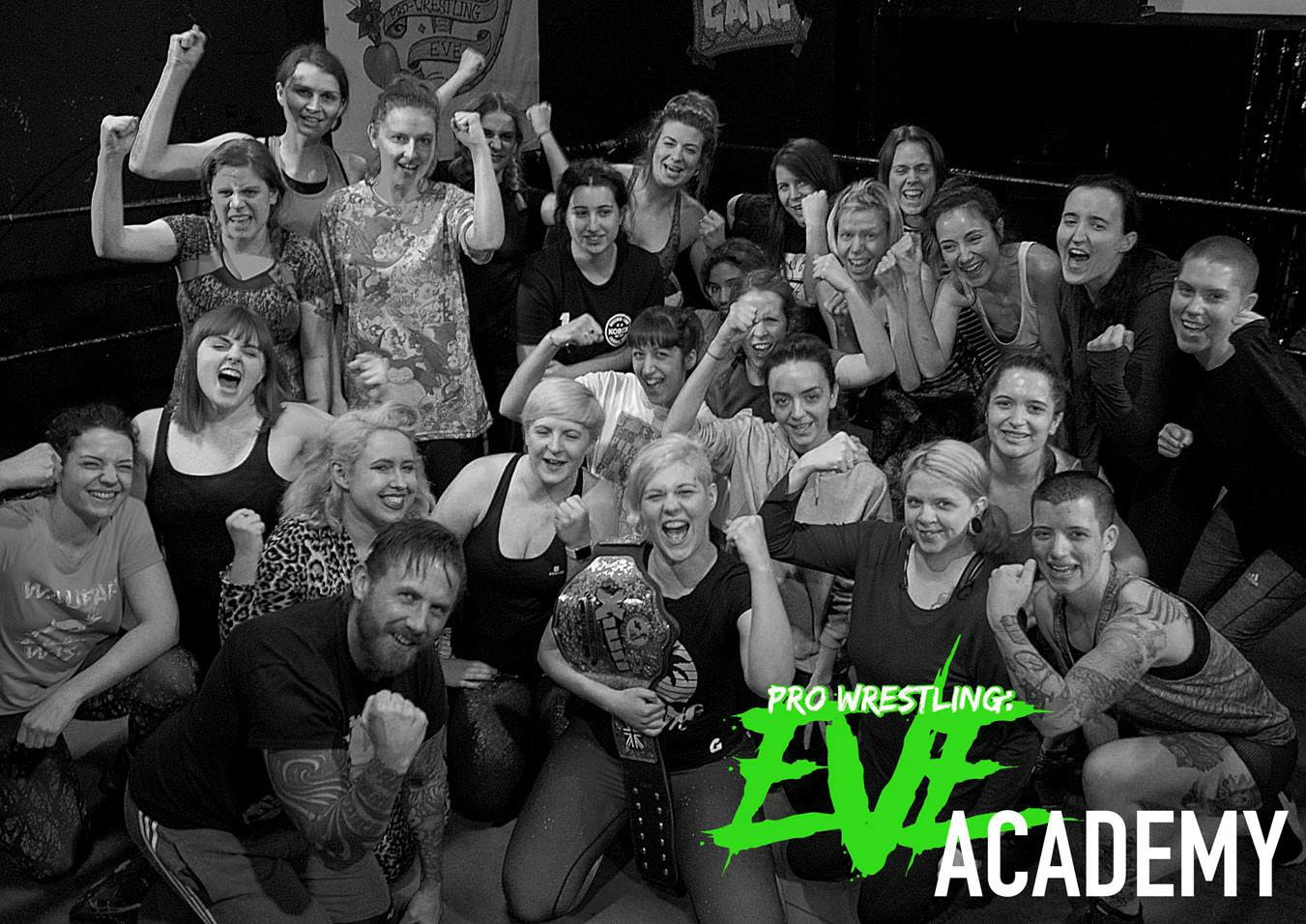 EVE Academy students and coaches