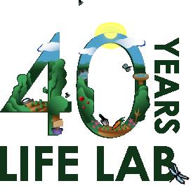 Life Lab 40th Anniversary Logo