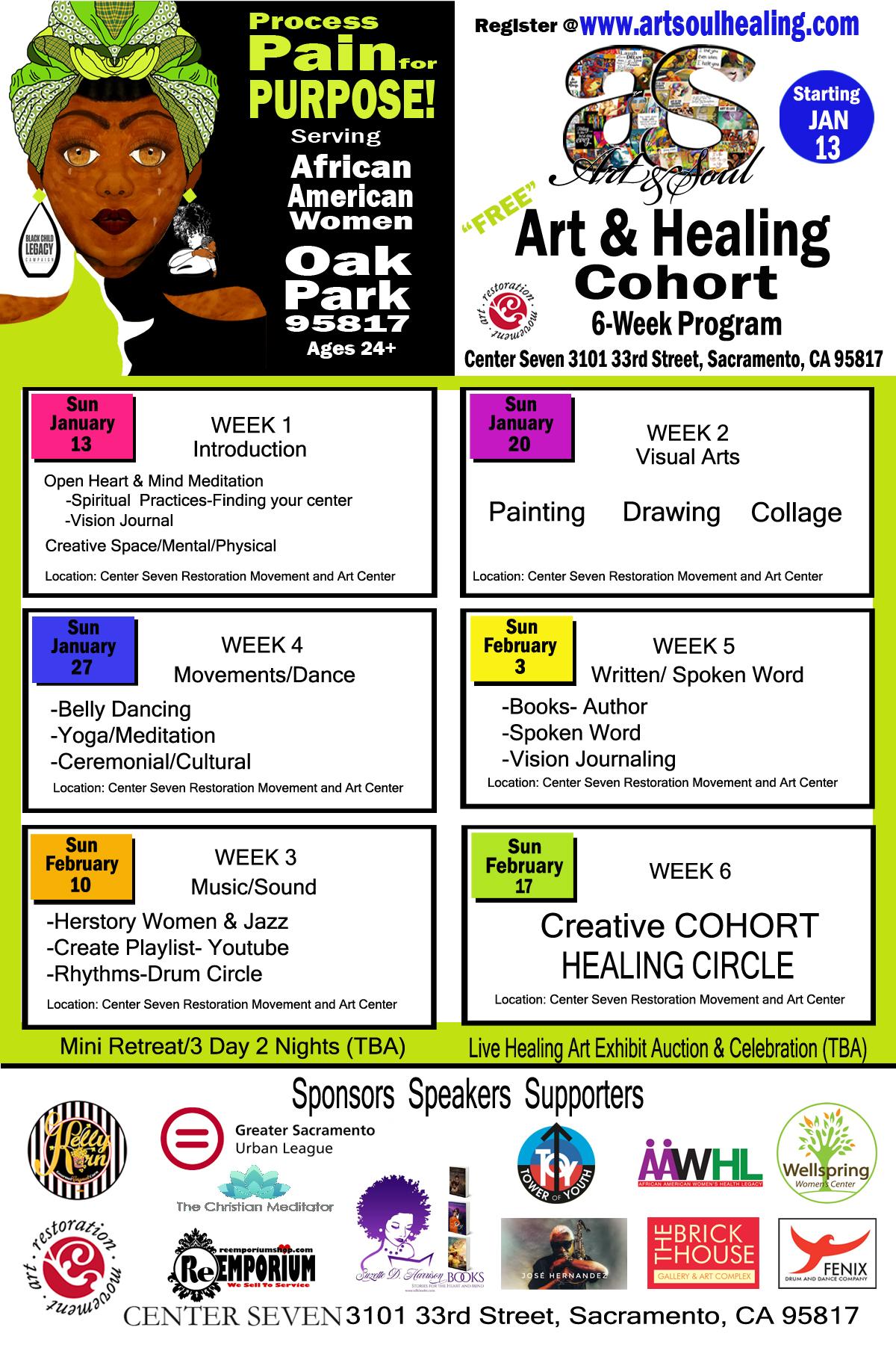Art & Healing Cohort 6-Week Program