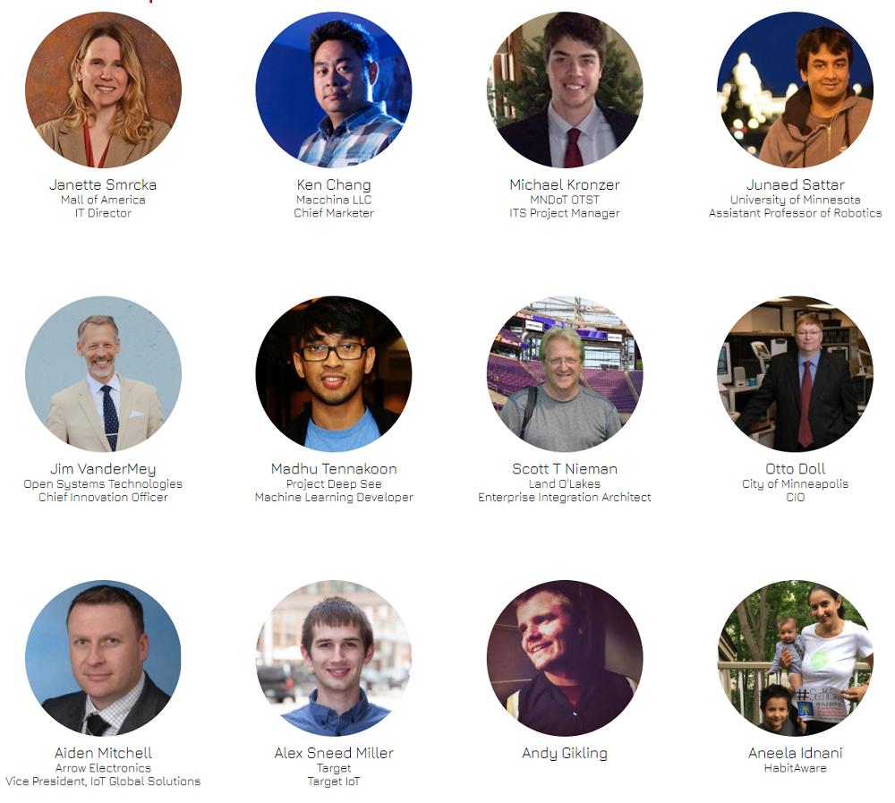 2018 Speaker Sample