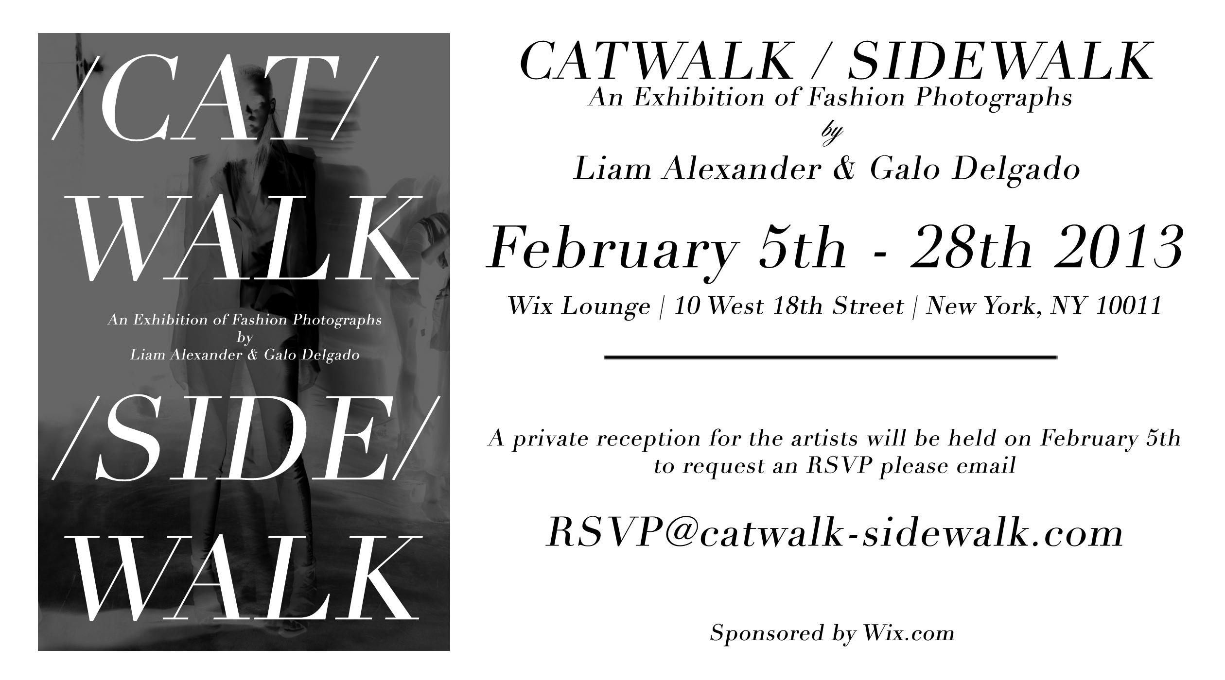Catwalk/Sidewalk Invite