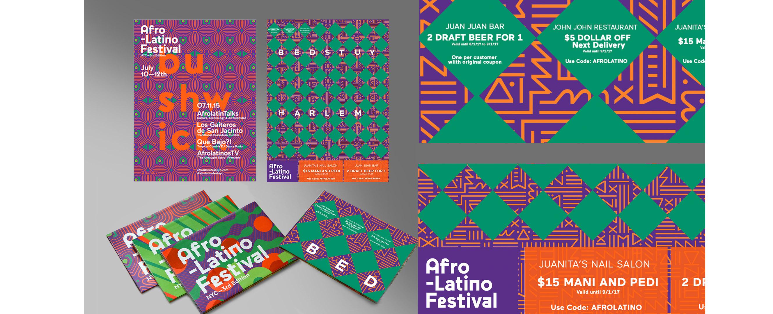 Sample Ad Afro-Latino Festival NYC 2017 Poster/Program
