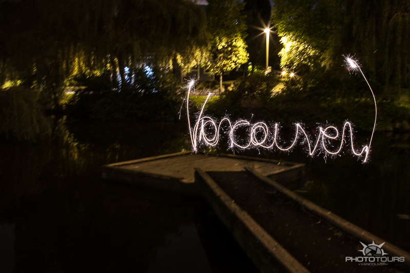 Granville Island night photography walking tour with Photo Tours Vancouver