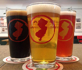 Selection of Cape May Brewery Beers