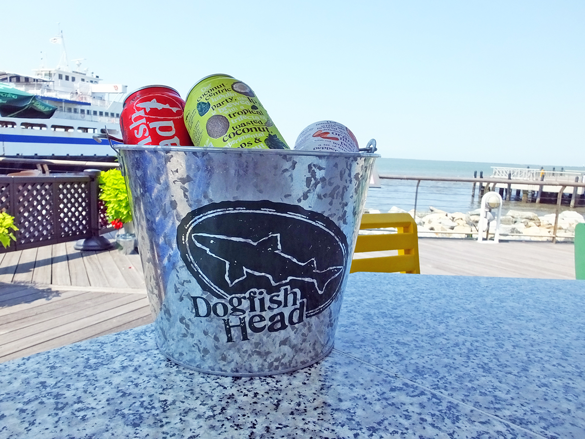 Dogfish Head Craft Brewed Ales at the Cape May - Lewes Ferry