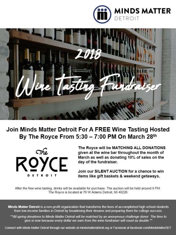 wine tasting charity event free