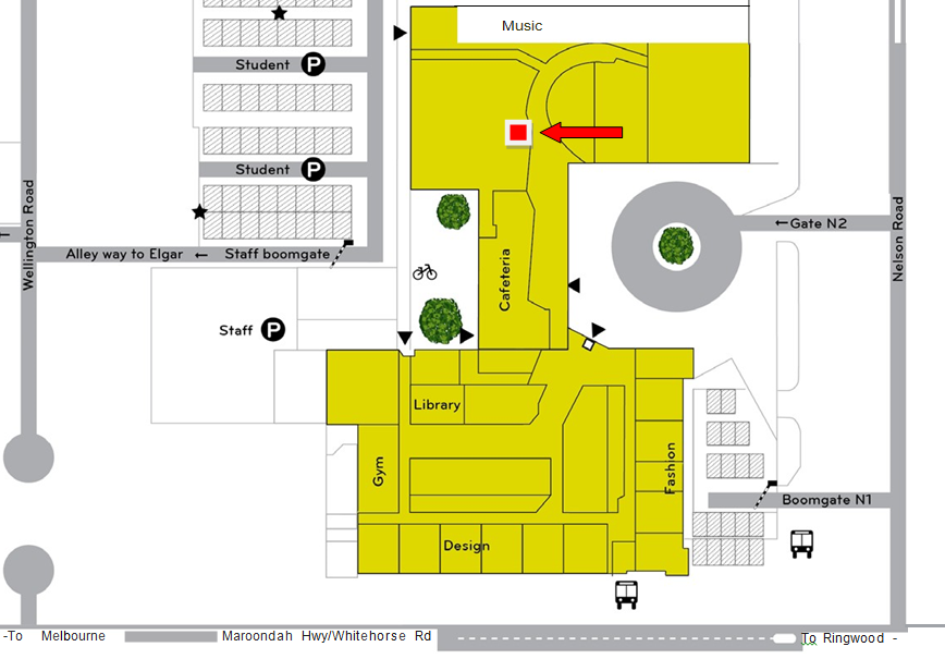 Nelson Campus - Music Map