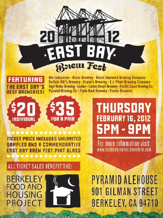 East Bay Brew Fest Poster