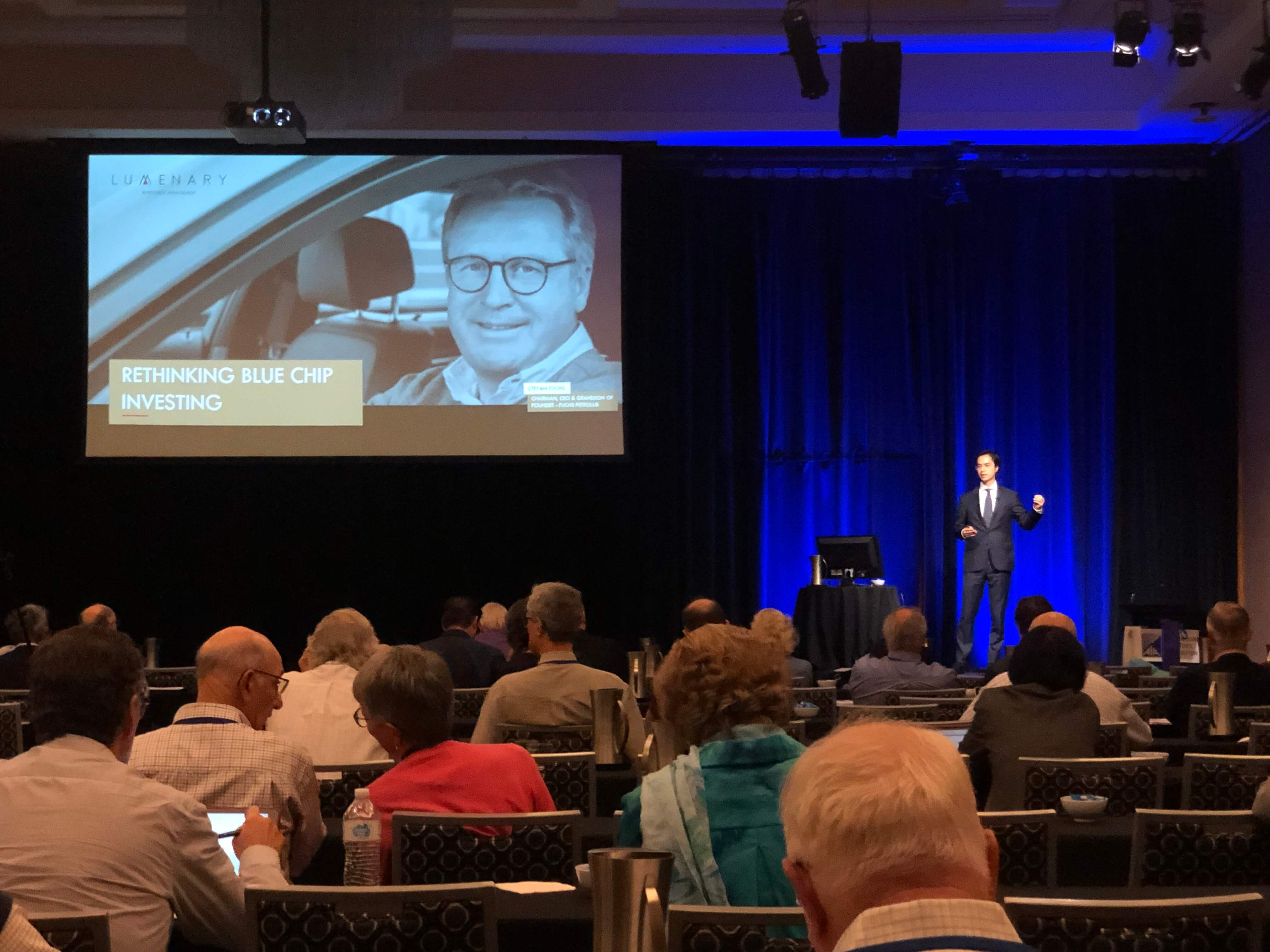 Rethinking Blue Chip Investing presentation cover