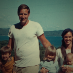 John and Bonnie Raines in 1971 with their 3 children