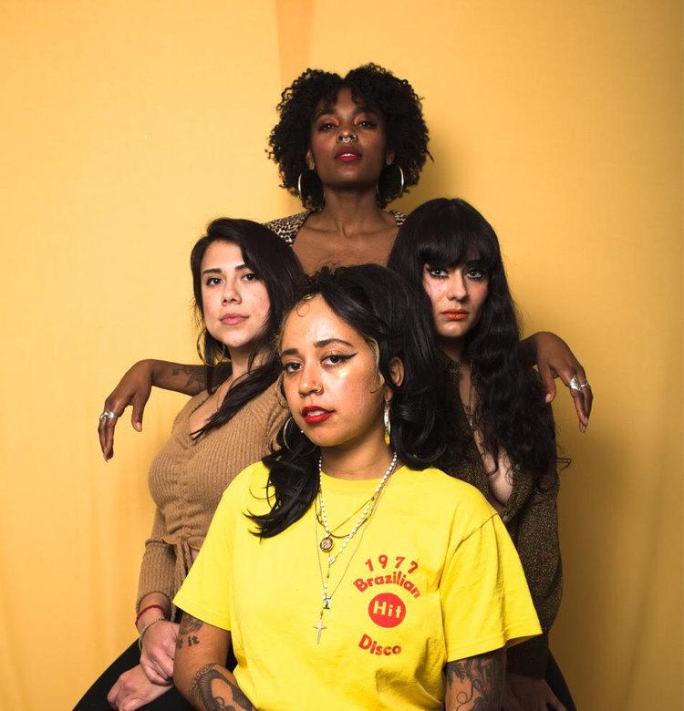 b side brujas for Women in Music Festival