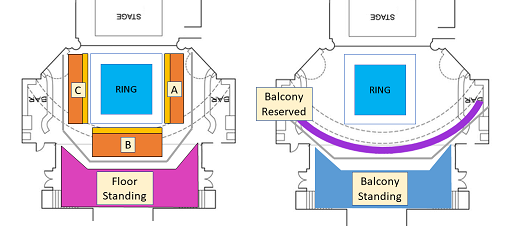 Globe Theatre Seating Map