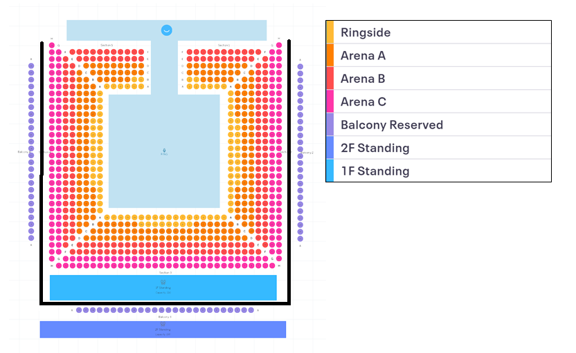 SJC 2019 Seattle Seating Chart