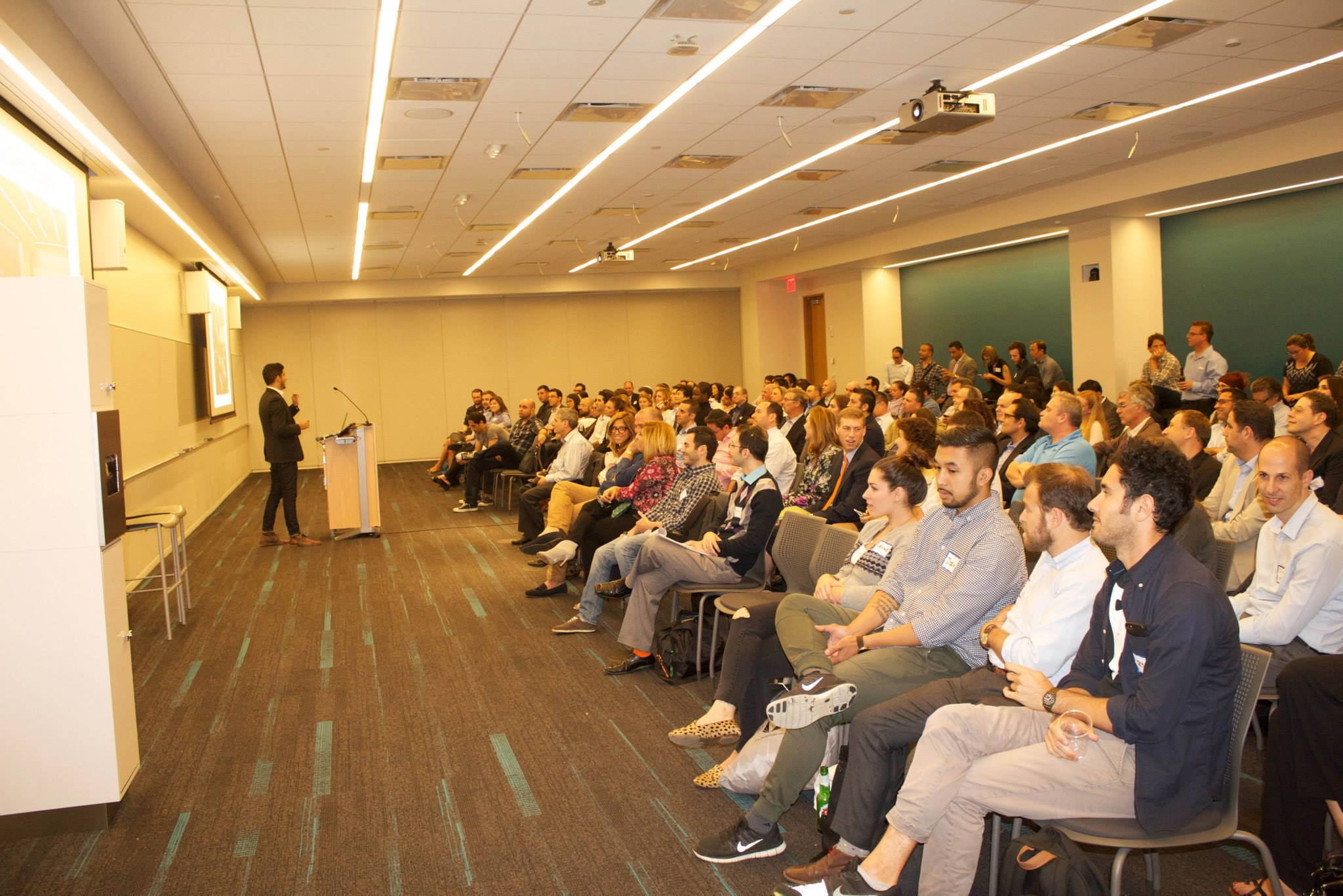 Israeli Startups NYC Pitch Night Event 2016
