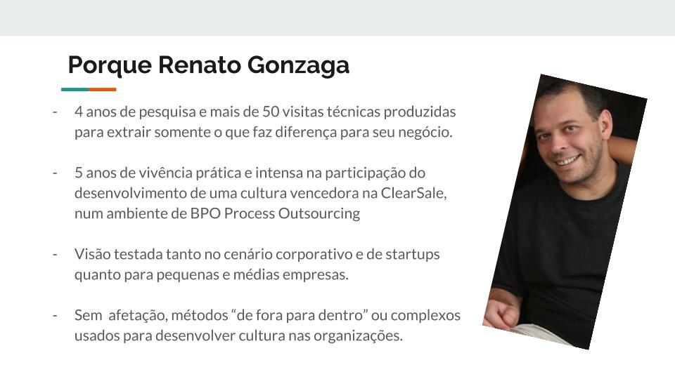 Porque Renato Gonzaga