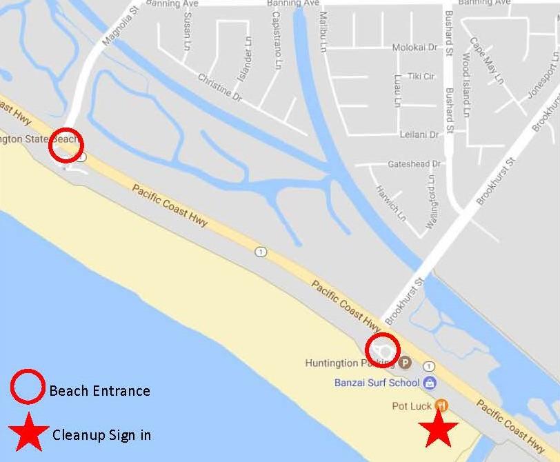 Huntington Beach Direction