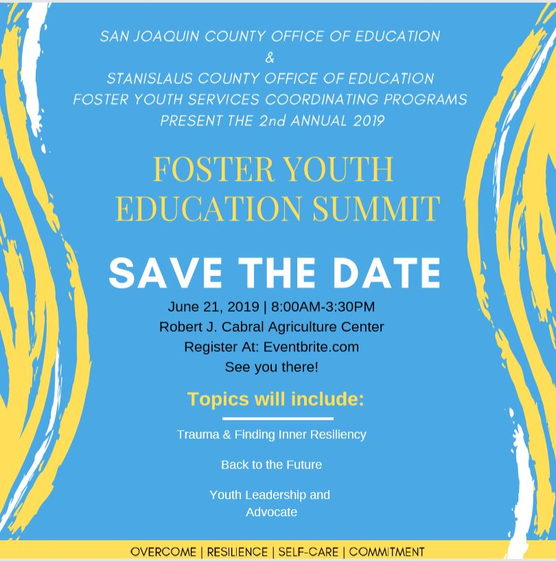 2nd Annual Foster Youth Education Summit - 21 JUN 2019