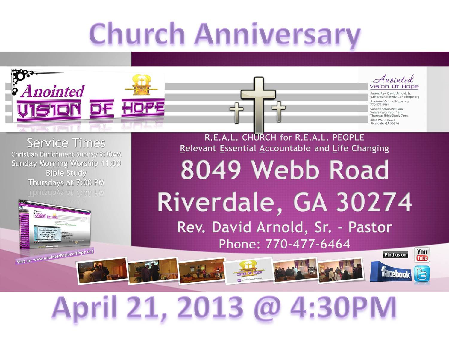 AVH Church Anniversary 2013