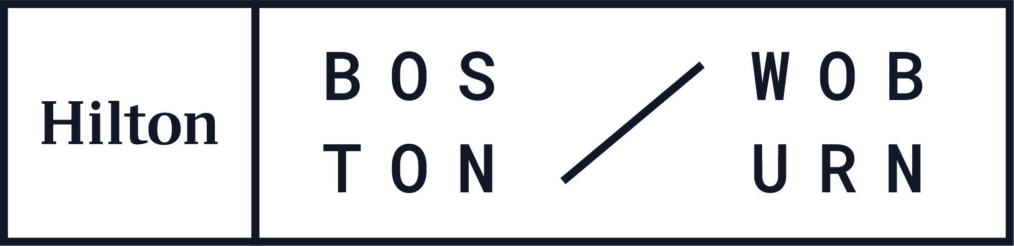 Hilton Boston Woburn Logo