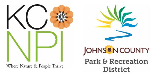 KCNPI and JCPRD logos