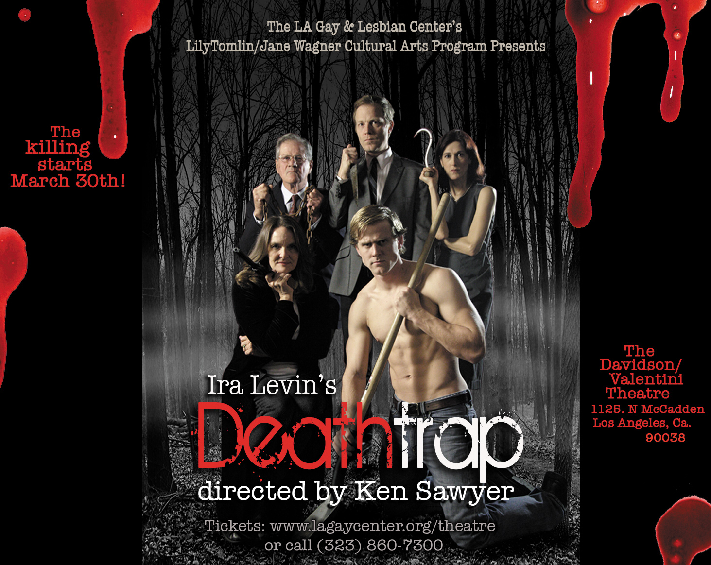 Deathtrap ad