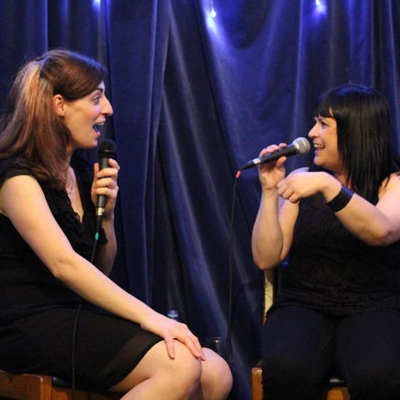 Keira chats with Rebecca De Unamuno