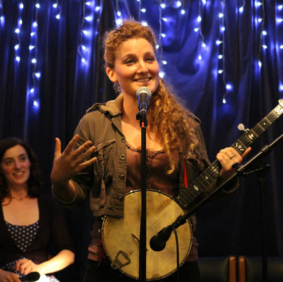 Alice Fraser shares a secret in song