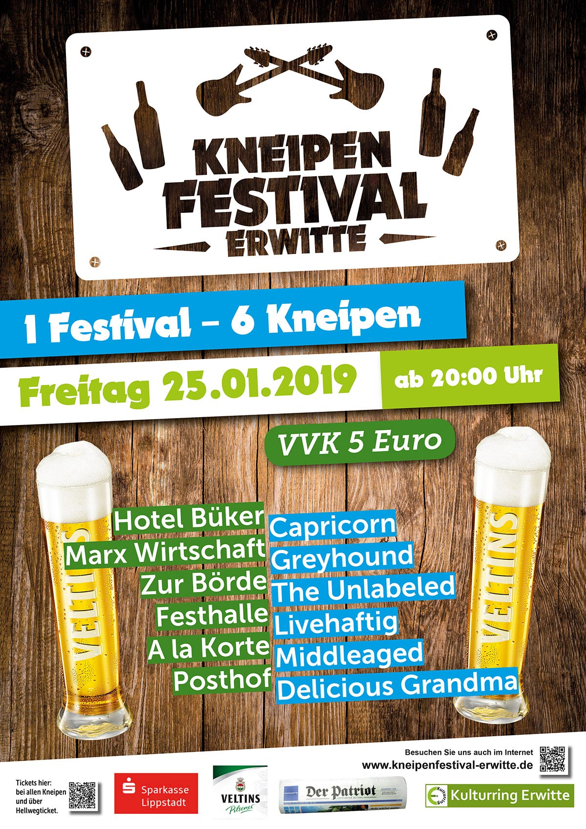 Flyer Kneipenfestival