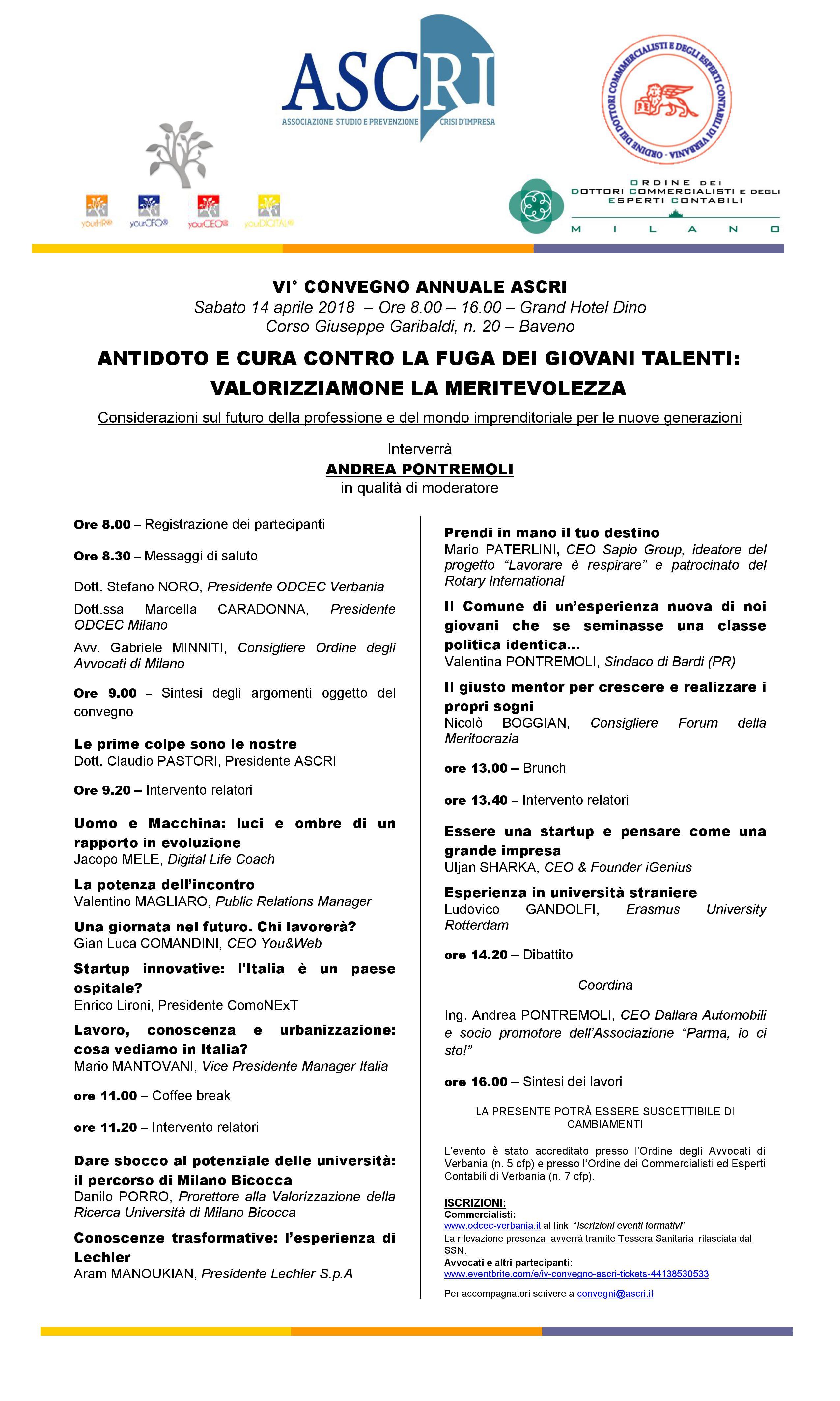 Locandina convegno ASCRI 14/04/2018