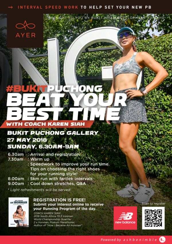 beat your best time