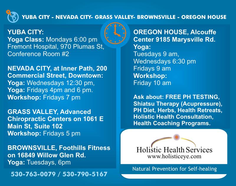 Holistic Self-healing Yoga Classes and Workshops