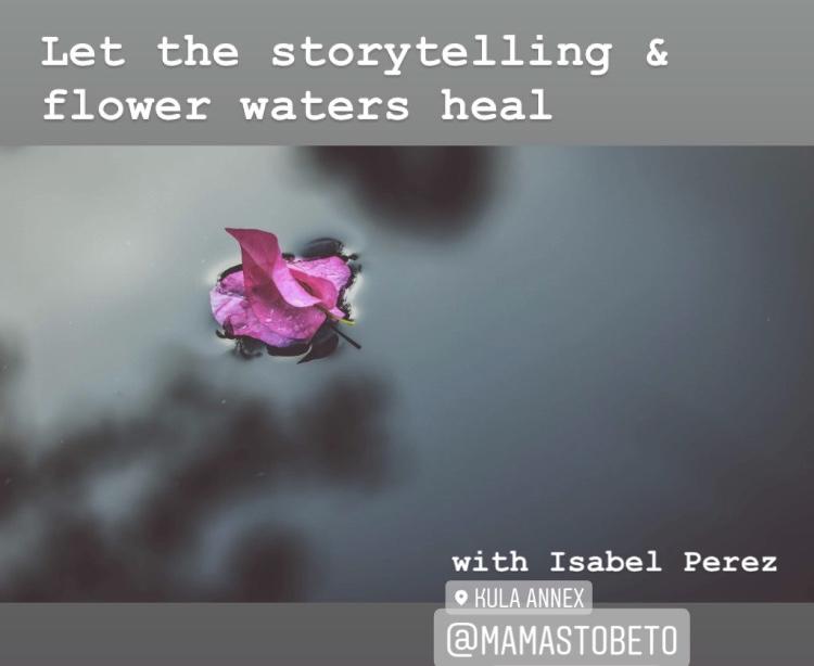 flower water healing ceremony toronto