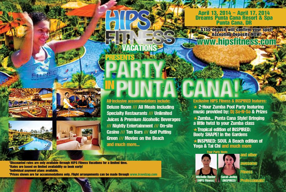Punta Cana Zumba Flyer