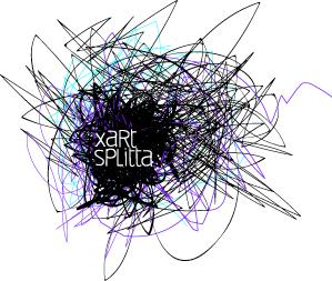 kleines logo xart splitta