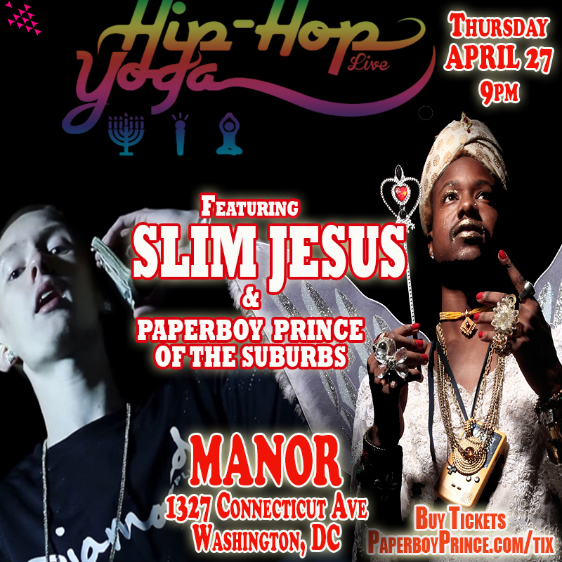 slim jesus and paperboy prince of the suburbs show