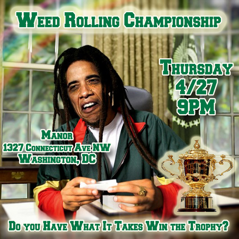 weed rolling championship