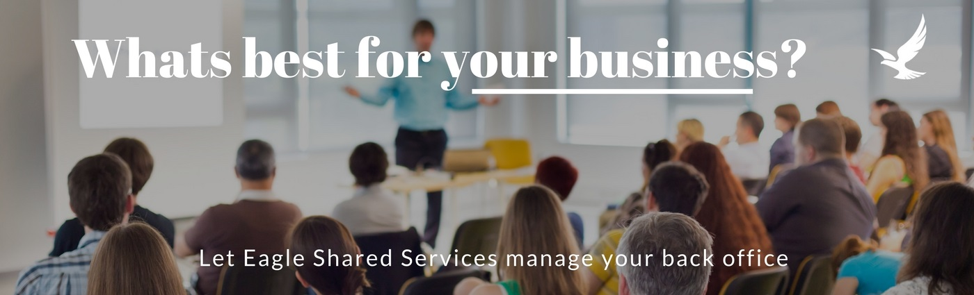 Let Eagle Shared Services manage your back office