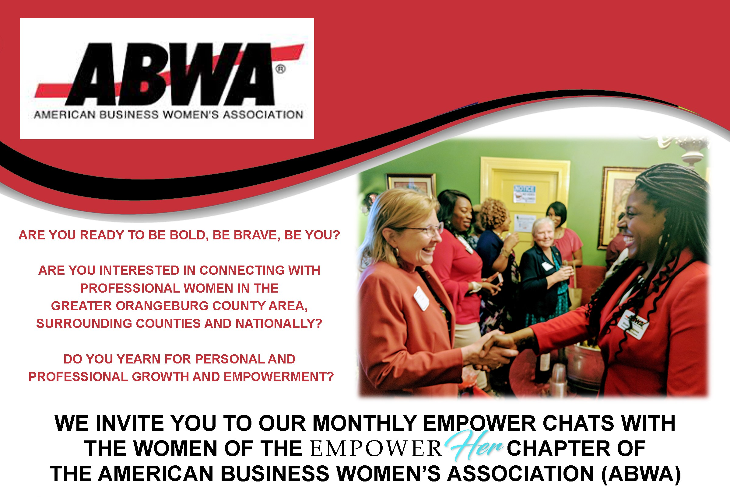 EmpowerHer Monthly Empower Chat
