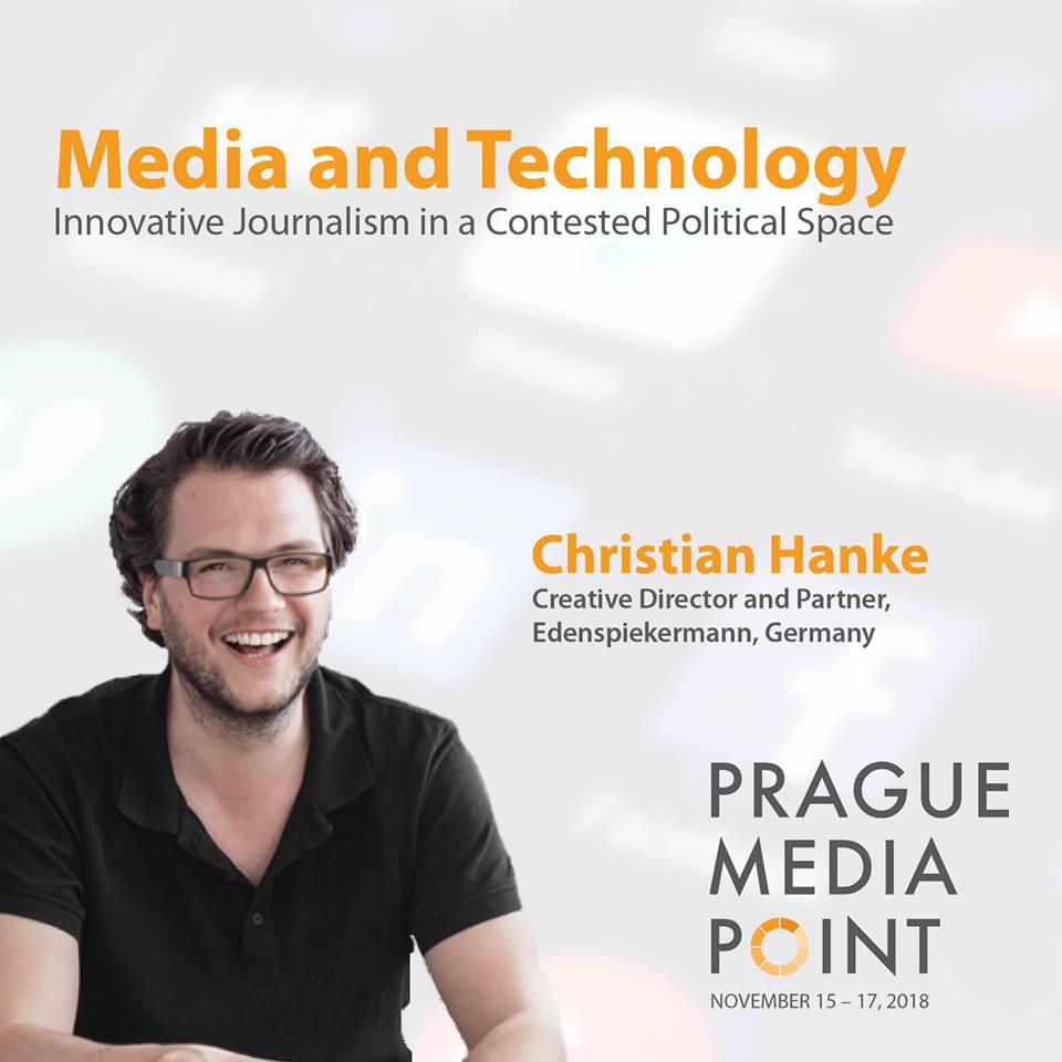 Christian Hanke, Prague Media Point